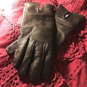 Italian Leather & Wool Lined Driving Gloves